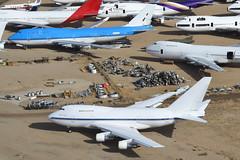 Untitled Boeing 747SP-27; N747A@MHV;29.01.2018 (Aero Icarus) Tags: mojave mhv california avion plane aircraft flugzeug