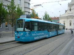Brno tram No. 1100 (johnzebedee) Tags: tram transport publictransport vehicle brno czechrepublic johnzebedee