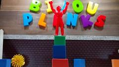 Red Star Up High, Y'ALL - Bijou Planks 258/365 (MayorPaprika) Tags: mini figs figure pvc miniature smallscale figurine theater diorama toy story scene custom bricks bijouplanks plastic