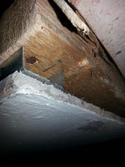 Asbestos AIB ceiling panel (Asbestolux) Tags: asbestos aib ceiling tile
