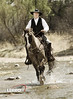 Cowboy (Lerro Photography) Tags: cowboy horse americanwest wildwest americansouthwest southwest rancher water stream creek