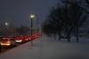 Taillights and trees (schwerdf) Tags: lowryhill minneapolis minnesota sculpturegarden snow snowfalling