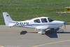 D-ELFM - 2004 build Cirrus SR20 G2, taxiing for departure on Runway 24 at Friedrichshafen during Aero 2017 (egcc) Tags: 1444 aero aerofriedrichshafen aerofriedrichshafen2017 bodensee cirrus cirrusdesign delfm depmx edny fdh friedrichshafen g2 lnmro lightroom n824ja seluh sr20