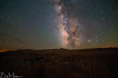 Milkyway above Bryce Canyon, Utah (Bill-Metallinos) Tags: night long exposure bryce canyon astronomy national park milky way astrophotography milkyway photography nightscape nightsky sunset point astrocorfu astrolandscape astrovox astrophoto metallinos singe shoot