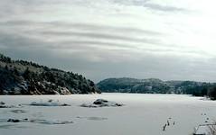 The Break (Jan Zielinski) Tags: winter snow norway austagder lillesand høvåg fjord minolta minoltamaxxum7000 50mmf17 coastal