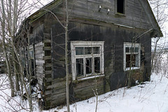 Ghost House (Jolita Kievišienė) Tags: house home village rustic rural old abandoned ghost lietuva lithuania window shack