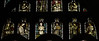 Tamworth, Staffordshire, St. Editha's, St. George's chapel, east window, angel musicians (groenling) Tags: tamworth staffordshire staffs england britain greatbritain gb uk stedithas chapel stgeorgeschapel glass window stainedglass burnejones morrisco angel musician instrument mmiia