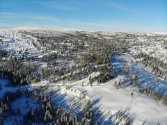 Blefjell sett fra lufta (Kjetil Lier Svendsen // Thanks for 300,000 views!) Tags: blefjell norge norway mountains aerial luftfoto klsluftfoto norwegen landscape