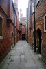 Fish Court (zawtowers) Tags: hampton court palace east molesey surrey henry viii historic royal residence saturday february 17th sunny dry visit henryviiikitchens kitchens large scale cooking era fish narrow passageway street paved