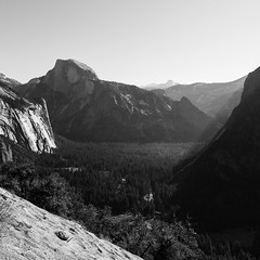 Yosemite 2018 (hermitsmoores) Tags: fx hiking fullframe halfdome leaves mountains nature nikon nikond800 rivers skies streams trees water waterfall yosemite yosemite2018 yosemitefalls zen bw blackwhite square 6x6