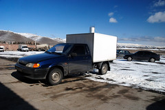 At Sevan City (Jelger Groeneveld) Tags: sevan city lada vaz 2114 truck samara armenia vis 23472