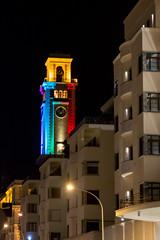 IMG_2855.jpg (Bri74) Tags: architecture bari lights lungomarearaldodicrollalanza night puglia tower