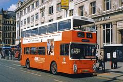 G M Buses 8157 (VBA 157S) (SelmerOrSelnec) Tags: gmbuses leyland atlantean northerncounties vba157s manchester piccadilly greatermanchesterpte greatermanchestertransport gmpte gmt bus