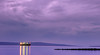 A ship passing by the purple silky water (wander_jed) Tags: sea ship water lights longexposure purple landscape island morning sky clouds beauty nature travel