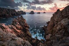 Pen Hir (DBPhotographe) Tags: landscape bretagne penhir coast seascapes sunset rocks ocean atlantic france sea water finistere