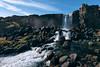 Öxaráfoss (meezoid) Tags: waterfall þingvellir iceland travel öxará river nature scenery landscape rocks gorge tectonic plate geology fluvial flow