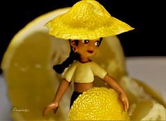 Citrus game (Anavicor) Tags: citrus limón juego play scene game macromondays anavillar villarana anavicor tamron90mm nikon d5300 doll