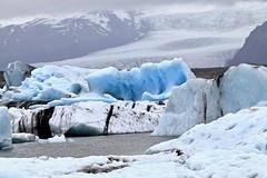 Glacier Lagoon Jökulsárlón (Bakuman3188) Tags: snowcapped mountain range rock remote hill nonurban scene aiguille du dru extreme terrain snow peak ridge glacier lagoon jökulsárlón gletscher ice eis アイス アイスランド 風景 自然 landscape landschaft