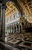 Basilica di S. Paolo (Pablos55) Tags: sanpaolofuorilemura chiesa basilica church arco arch colonne columns soffitto ceiling