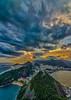 Morro da Urca e praia Vermelha (mcvmjr1971) Tags: trilhandocomdidi d7000 bondinho cablecar f28 mmoraes nikon pordosol pãodeaçucar riodejaneiro sugarloaf sunset tokina1116mm vistadecima