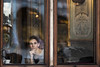 Atmosfere veneziane (silvia pasqual) Tags: venice italy venetian atmosfhere florian cafè people woman reflection looking person portrait beauty beautiful canon lens world travel street
