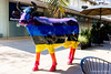 Arcoiris vacuno (Ricardo A Sáenz) Tags: sculpture x100t arcoiris arte art vaca street rainbow escultura calle guadalajara fujifilm cow