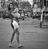 Carry (Beegee49) Tags: street mother woman filipina carrying baby bacolod city philippines