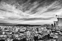 Osservando Cagliari (nicolamarongiu) Tags: cagliari panorama panoramic sardegna bastione castello italy biancoenero blackandwihte monocrome monocromo vista citta case