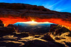 Mesa Arch Sunrise (jthight) Tags: sunburst autumn october arch landscape mesaarch ut canyon nationalpark mountains landform photoshop moab fall starburst rocks nikond810 redrocks glow morning canyonlandsnationalpark sunrise sunrays utah fallcolors usa sky park unitedstates canyonlands afzoom1424mmf28g lightroom