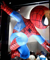 2017-Gentle Giant's Spider-Man Display at SDCC-02 (David Cummings62) Tags: sandiego ca calif california comiccon con david dave cummings 2017 spiderman marvel comics statue gentlegiant movies tvseries animated