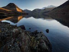 Wasdale (Ade G) Tags: landscape rocks seasons lakes mountains panorama snow winter