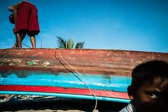 * (Sakulchai Sikitikul) Tags: street snap streetphotography songkhla sony a7s voigtlander 28mm thailand boat boatmaker boy muslim islamic islam