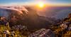 Table Mountain sunset view (Ederson Ladeira) Tags: sunset sun sunrise tablemountain capetown mountain mountains sea light hot trip travel africa canon paisagem montanha céu pedra mar pôrdosol cânion