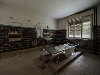 Abandoned morgue