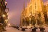 Snowy cathedral (benoitgx) Tags: chartres snow france cathédrale cathedral blue hour light twilight sony sonyalpha sonyalpha6000