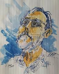 Tom Pelett pour JKPP   #sketch #portrait #JKPP (dege.guerin) Tags: portrait jkpp sketch