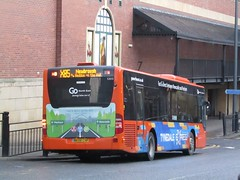 Go North East 5300 NK08CHF Eldon Sq Bus Stn, Newcastle on X85 (1280x960) (dearingbuspix) Tags: goahead gonortheast tynedaleexpress nk08chf 5300
