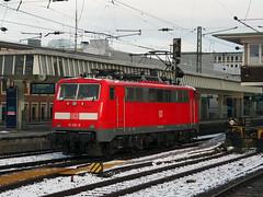 DB 111 150 (jvr440) Tags: trein train spoorwegen railroad railways locomotive db deutsche bahn münster hbf hauptbahnhof br 111