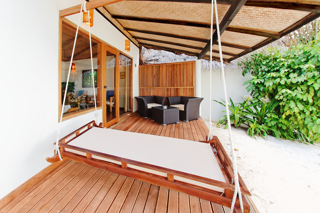 Beach Bungalow - Veranda