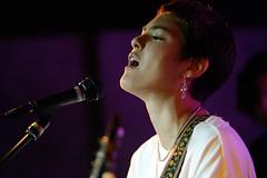 get out. (JonBauer) Tags: miyafolick cafedunord noisepop vocalist singer songwriter music performance portrait sanfrancisco california guitar nikon d800 70200mmf28gvrii