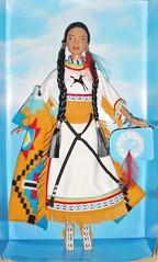 2003 Spirit of the Sky Barbie (2) (Paul BarbieTemptation) Tags: limited edition native spirit collection american katiana jimenez world culture sky dream catcher tru exclusive