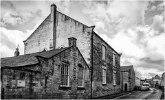 The United Reform Chuch , 2 . (wayman2011) Tags: fujifilm18mmf2 lightroomfujifilmxpro1 wayman2011 bwlandscapes mono architecture churches religeousbuildings rural pennines dales teesdale barnardcastle countydurham uk