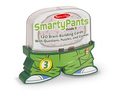 Melissa & Doug Smarty Pants 3rd Grade Card Set - 120 Educational, Brain-Building Questions, Puzzles, and Games (saidkam29) Tags: brainbuilding card doug educational games grade melissa pants puzzles questions smarty