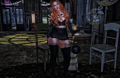 Mosquito's Way ... (Odera Boone) Tags: blog bloger secondlife style fashion boots mosquito's tattoo mac design maitreya omega skirt scandalize bag legal insanity top necklace supernatural monso my hair