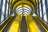 Three escalators (Jan van der Wolf) Tags: map13721 dissymmetry roltrap escalator stairs staircase stairway station trap lines lijnen lijnenspel architecture architectuur zoetermeer mandelabrug