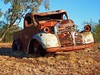 Near Winton Queensland (annewilson12) Tags: outback rust vintage old australia