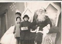 1956 (ART NAHPRO) Tags: rh hills blackpool father christmas santa claus 1956