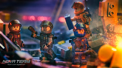 Array in Disarray (Agaethon29) Tags: lego afol legography brickography legophotography minifig minifigs minifigure minifigures toy toyphotography macro cinematic 2017 legospace neoclassicspace spaceman classicspace space scifi sciencefiction ncs novateam customminifigure moc aliens alien
