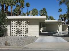 Shadowcliff Condo - Palm Desert, Calif. (hmdavid) Tags: palmdesert california shadowcliff condominium midcentury modern residential architecture 1960s 1960 concrete screen block breeze