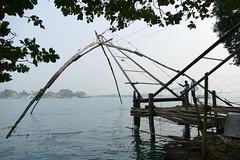Fishing Nets P1250721 (Phil @ Delfryn Design) Tags: india2018 kochi